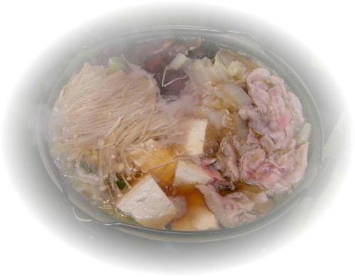 豚肉のすき焼き